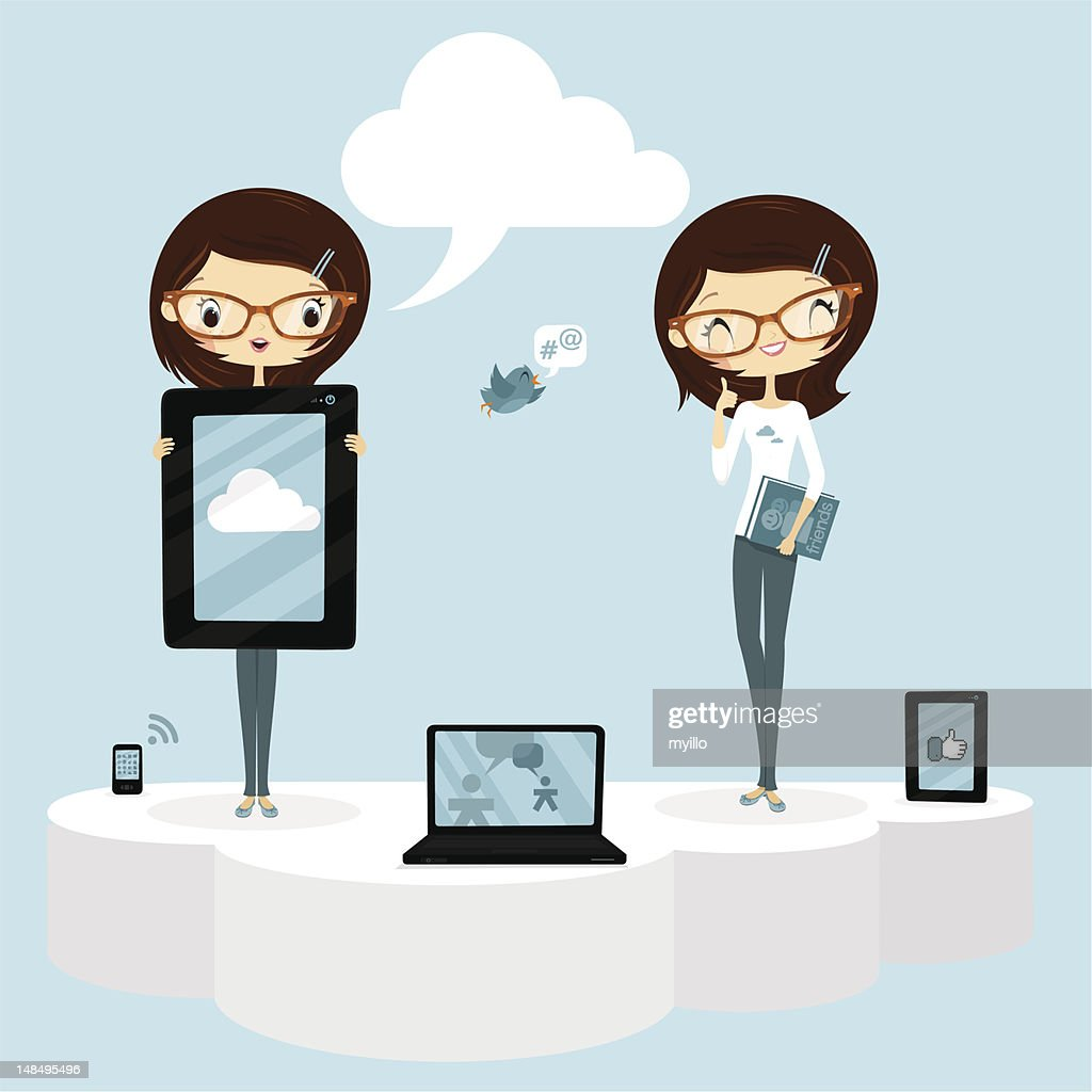 The cloud and social networks