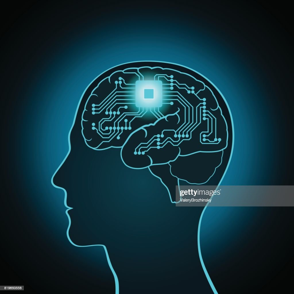 The CPU is installed in the brain, replacing, recovery the mind, consciousness, memory