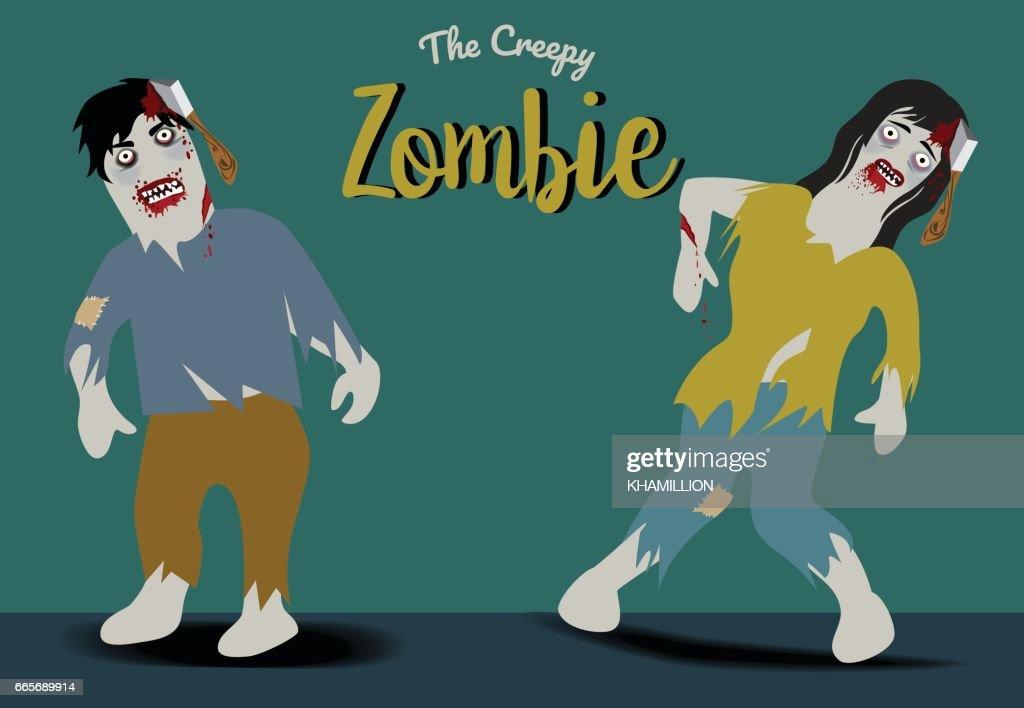The Creepy Zombie