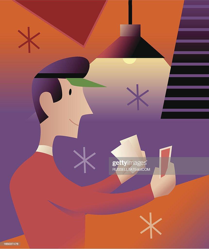 Die Händler : Stock-Illustration