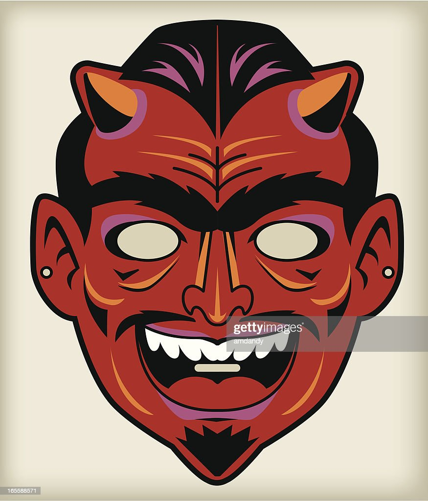 The Devil / Satan, Vintage Mask Series