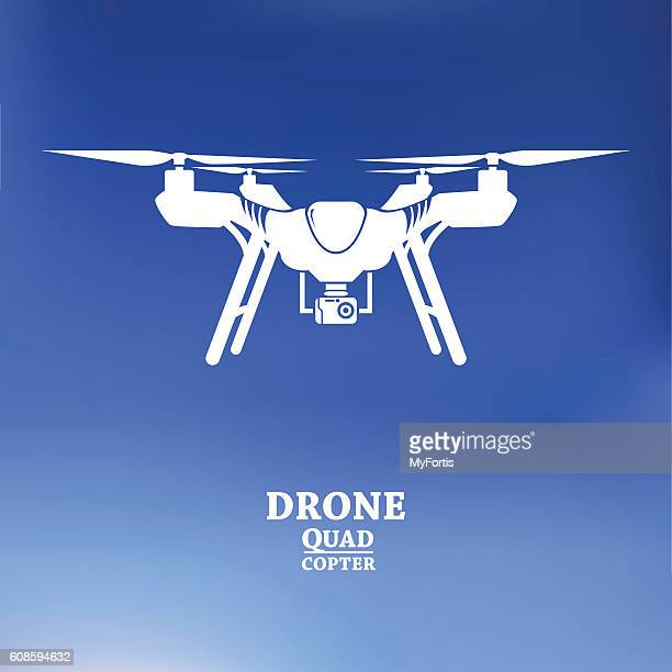 The drone with camera