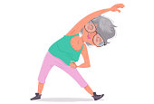 The Elderly and the exercises