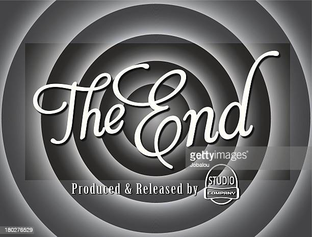 The End Movie Frame Cartoon
