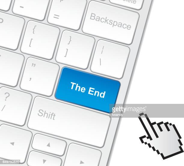The end on keyboard