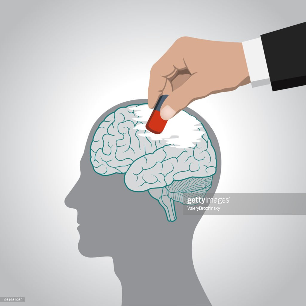The erasure of the brain, its contents, memory, memories, deprivation of individuality, control of consciousness