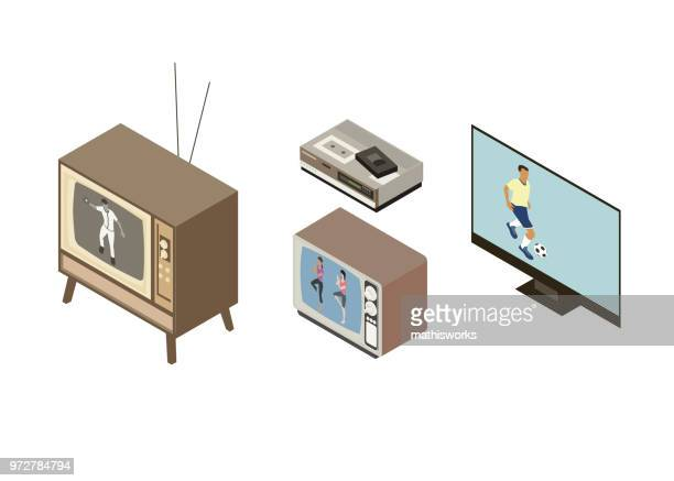The evolution of the television