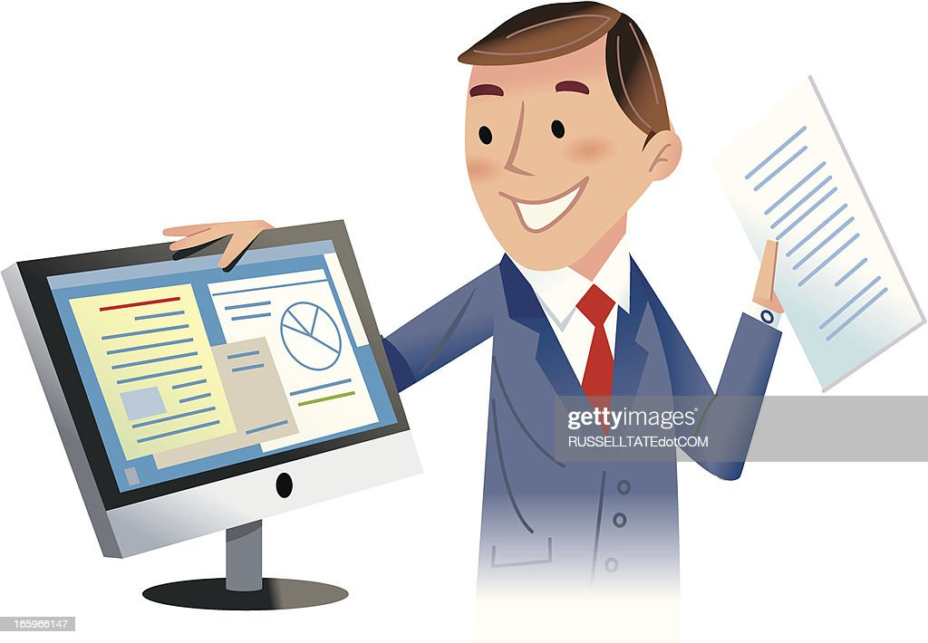 The figures are looking good! : stock illustration