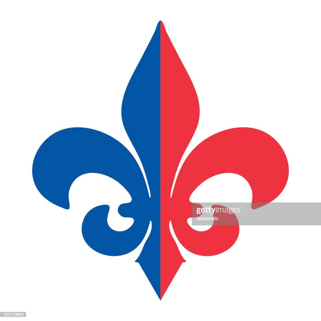 The Fleur De Lis Or Flowerdeluce Vector Icon Royal French Lily Made