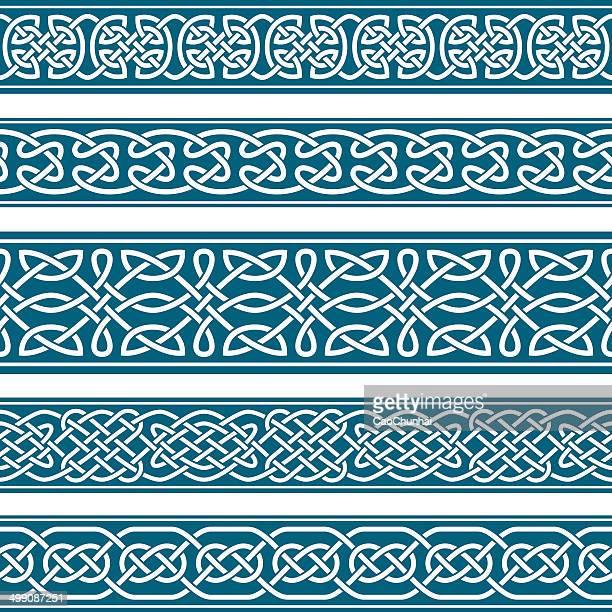 メディバルスタイルのフレーム - ケルト風点のイラスト素材/クリップアート素材/マンガ素材/アイコン素材
