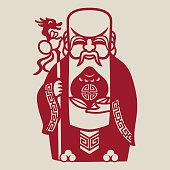 The god of longevity
