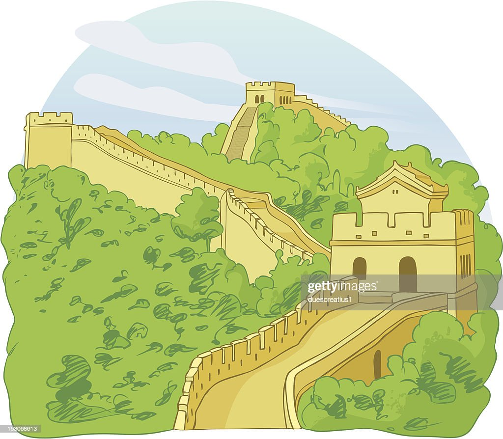 Beautiful Great Wall Of China Project Ideas Ensign - Wall Art ...