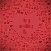 The Heart Valentine's day, Love icon