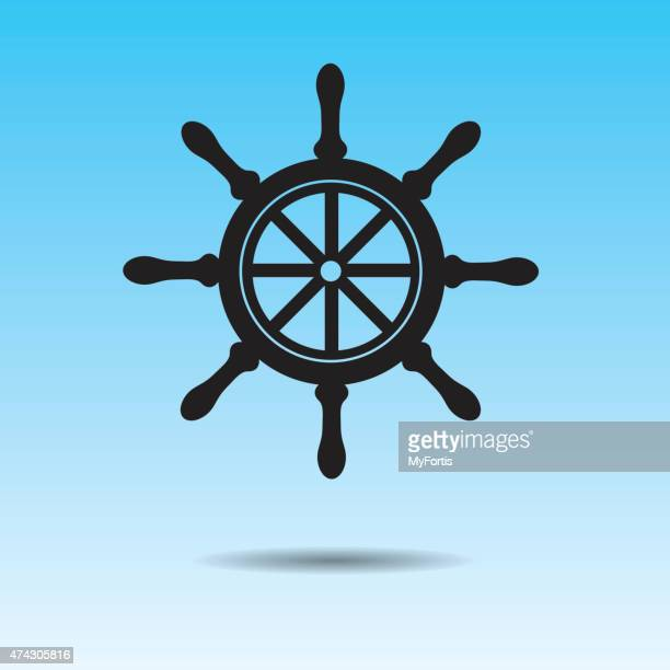 the helm - boat captain stock illustrations, clip art, cartoons, & icons