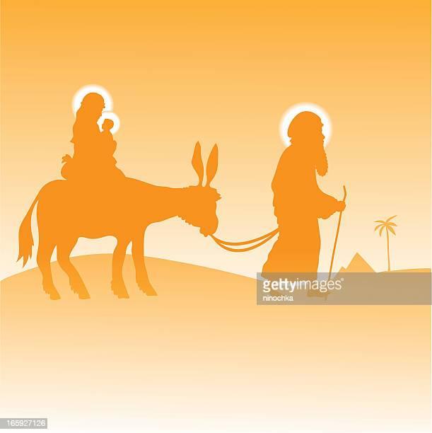 ilustraciones, imágenes clip art, dibujos animados e iconos de stock de la sagrada familia - personas leyendo la biblia