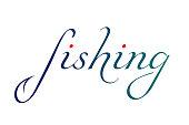 the inscription Fishing