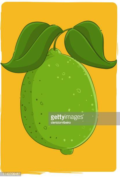 the lemon - morango stock illustrations