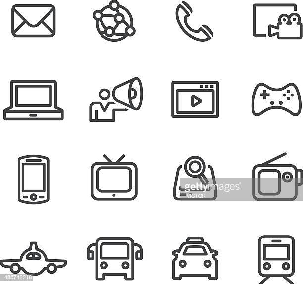 The Media Icons - Line Series