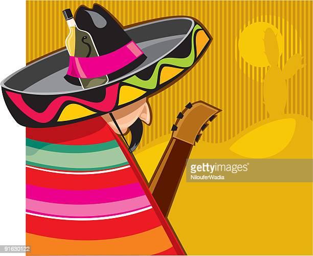 ilustrações, clipart, desenhos animados e ícones de o mexicano - tequila drink
