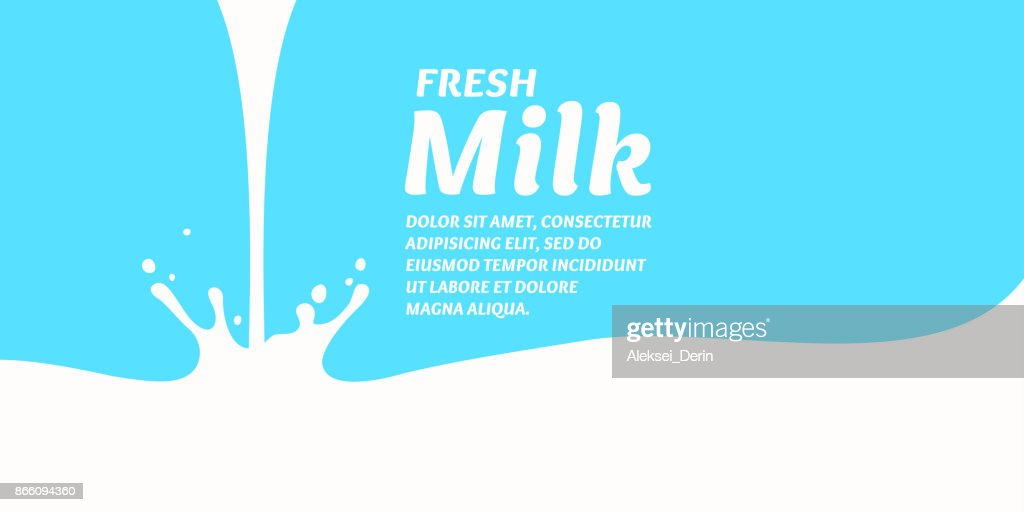 The original concept poster to advertise milk
