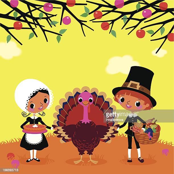 Die Piligrims und der Türkei.