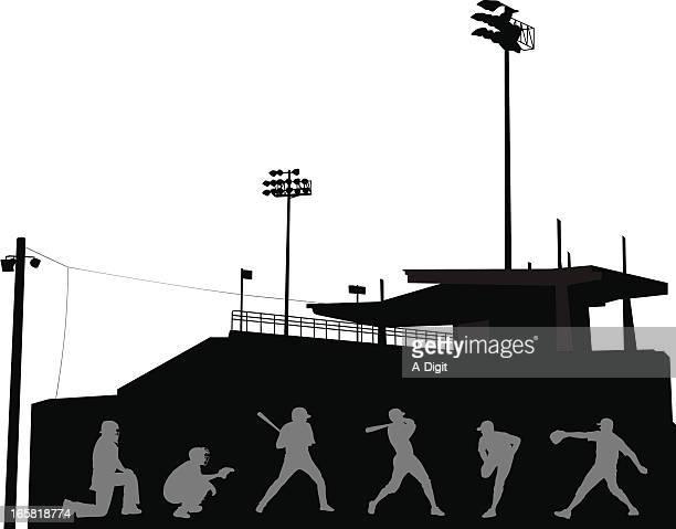 illustrations, cliparts, dessins animés et icônes de thepitch - arbitre de baseball