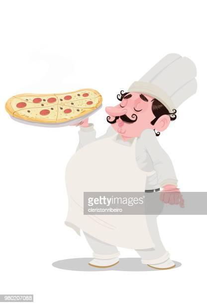 ilustrações de stock, clip art, desenhos animados e ícones de the pizza - pizzaria