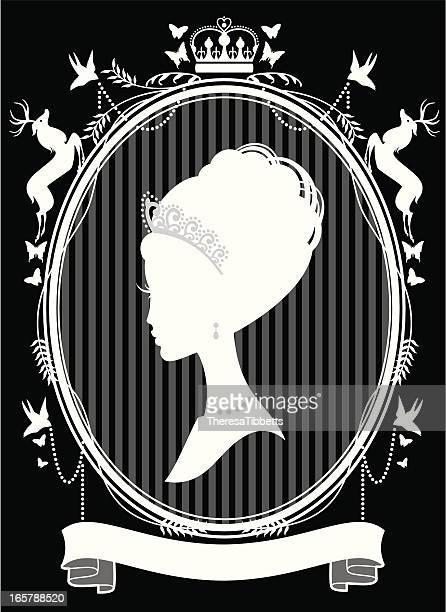 the princess - tiara stock illustrations, clip art, cartoons, & icons