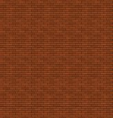 The red brick. Old masonry. Bright background.