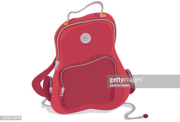 the schoolbag - school uniform stock illustrations, clip art, cartoons, & icons