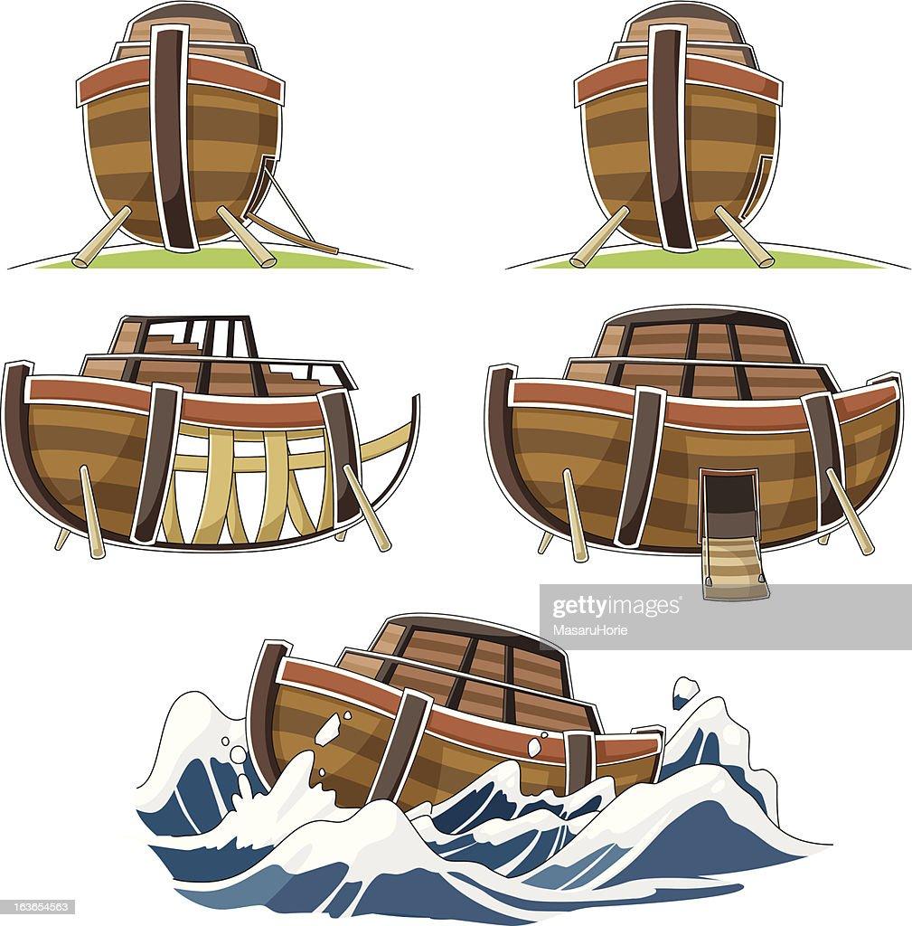 The ship of Noah's ark