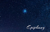 The sky is the brightest star of  Epiphany