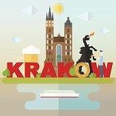 The symbols of Krakow