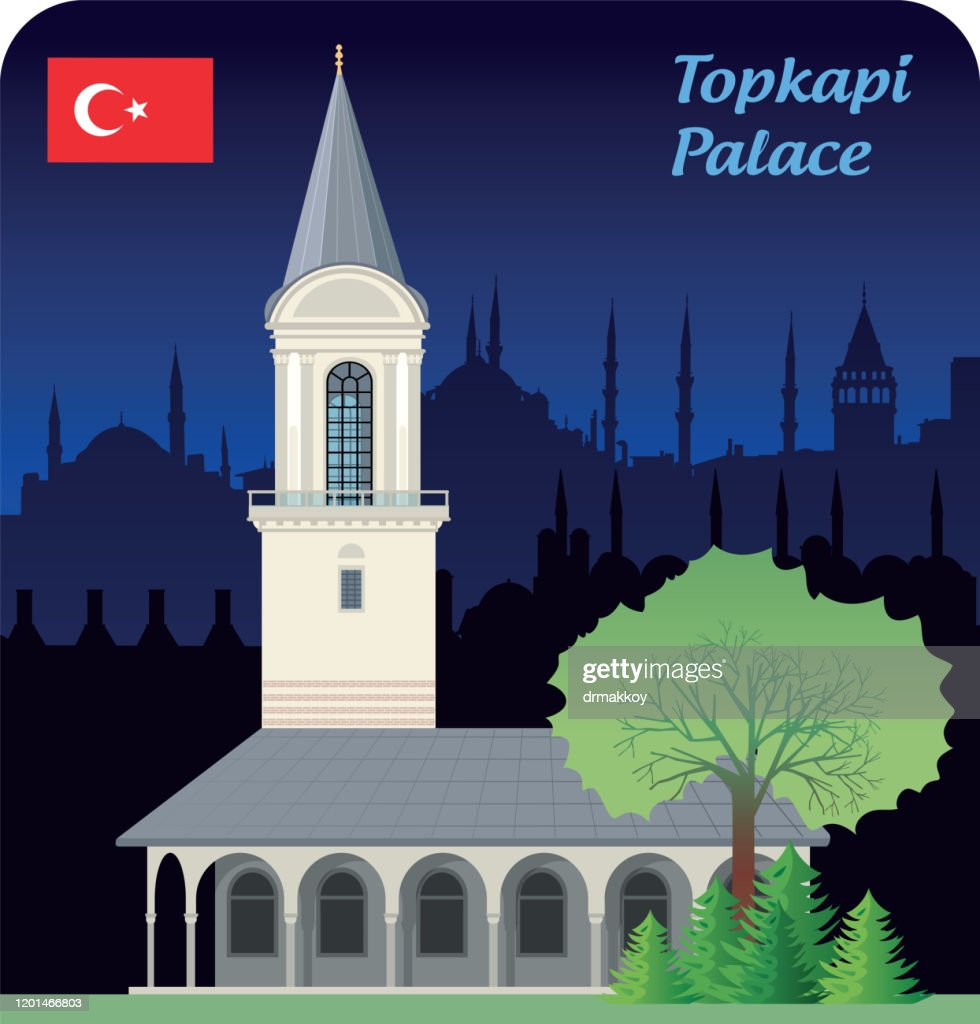 https www gettyimages com detail illustration the tower of justice topkapi palace royalty free illustration 1201466803