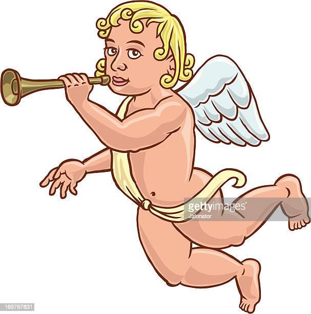 La trompeta de angel