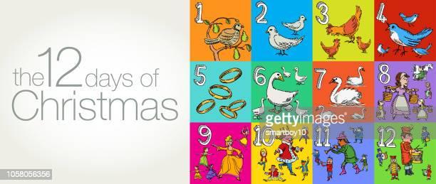 The Twelve Days of Christmas Greeting