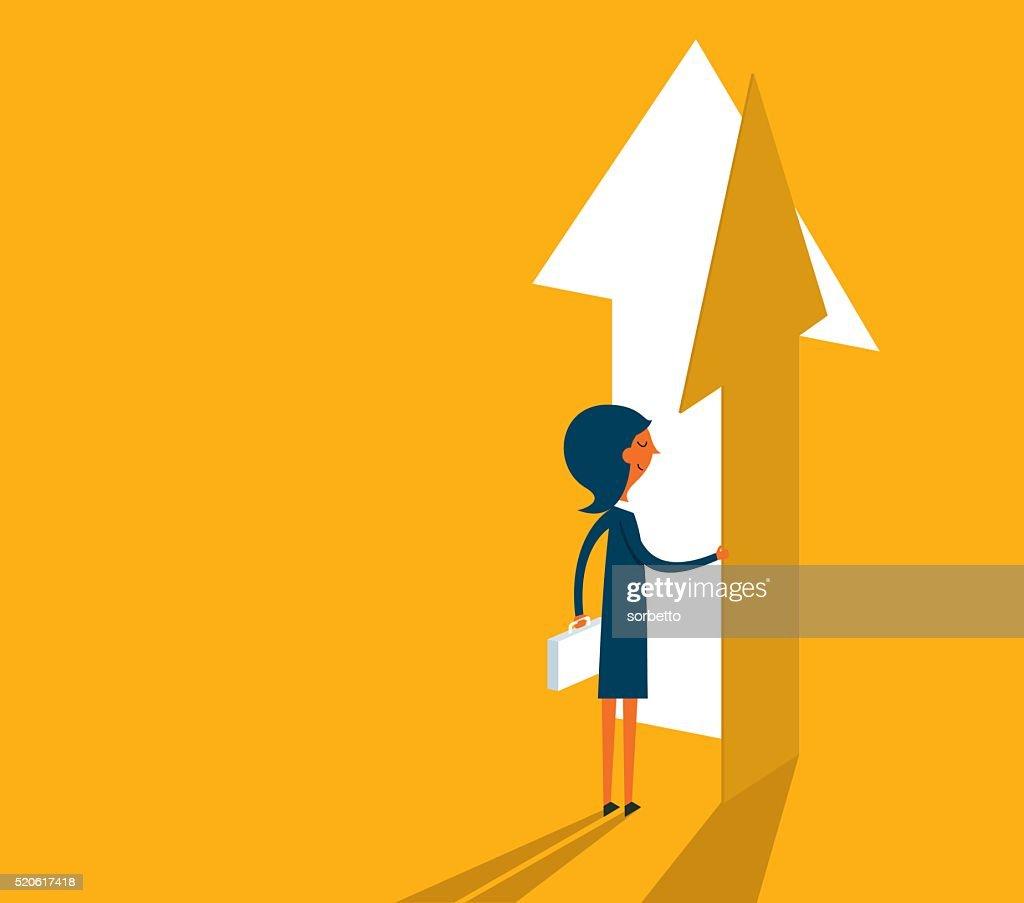 The Way Forward : stock illustration
