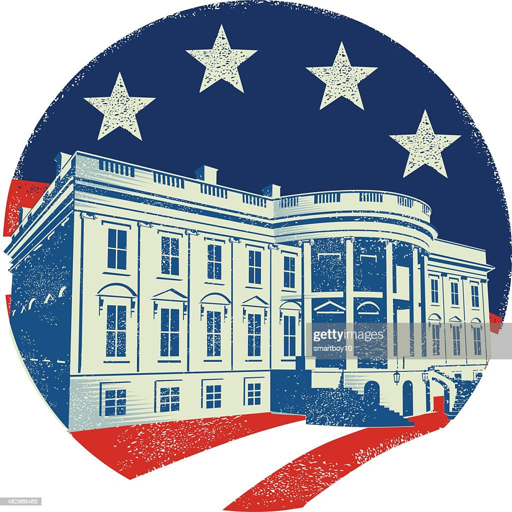 the white house vector art getty images rh gettyimages com white house vector clip art free white house victory garden 2017