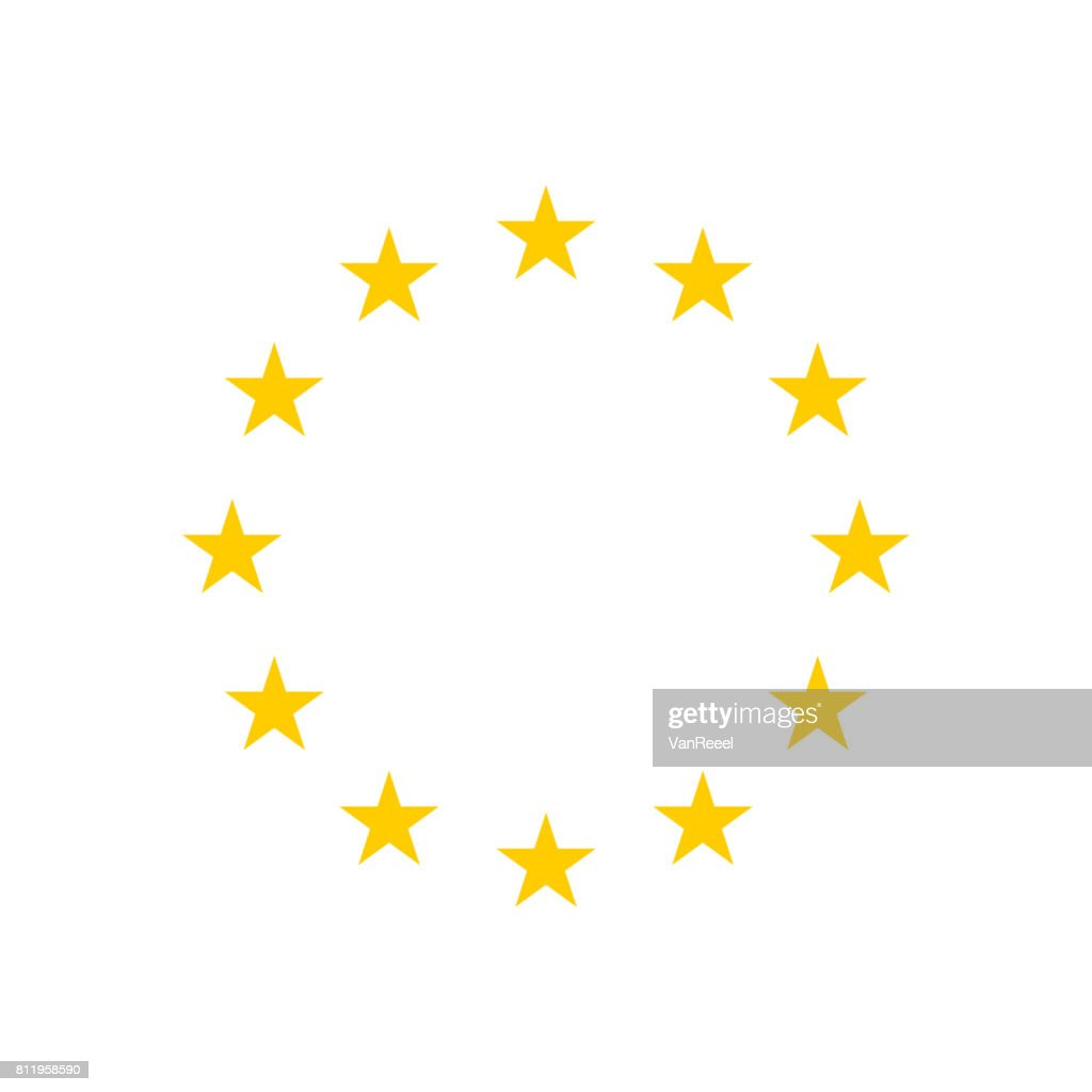 The wreath of stars of EU.