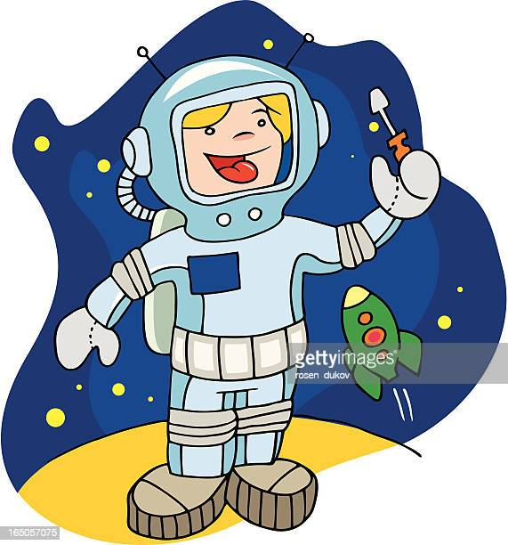 The Young Spaceman - Girl