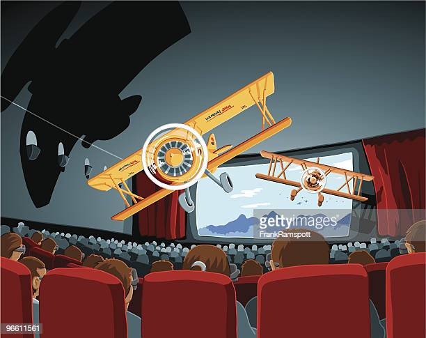 Theater 3D Film Biplanes
