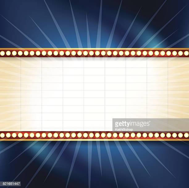 Theater Marquee Background