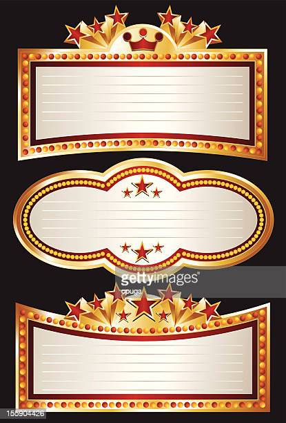 Theater Marquee Set
