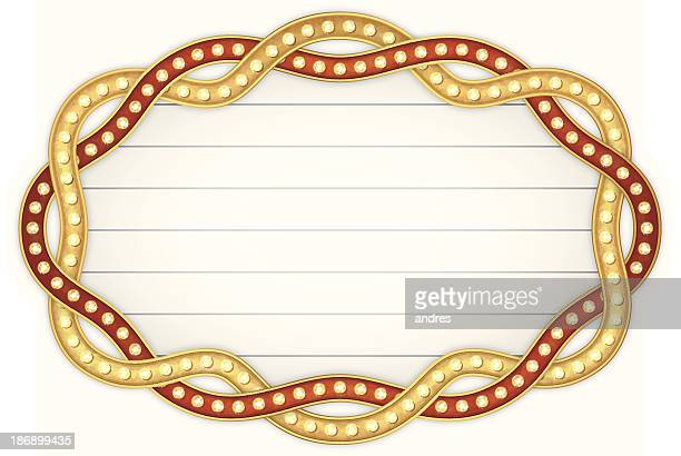 theater marquee - tempo stock illustrations