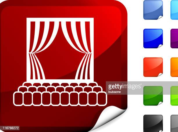theater stage internet royalty free vector art