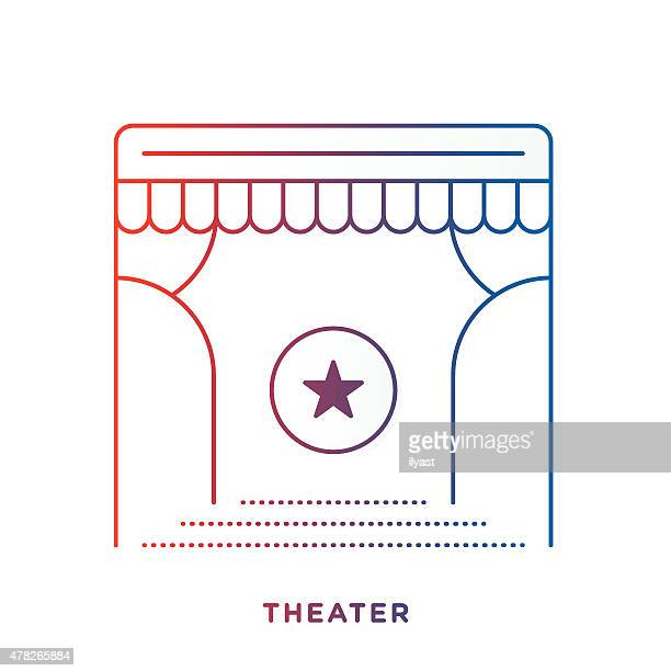 Theater Stage Symbol