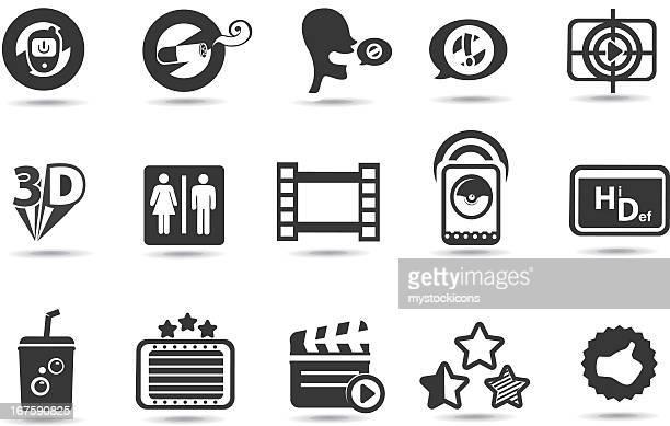 Theatre, Cinema Symbols