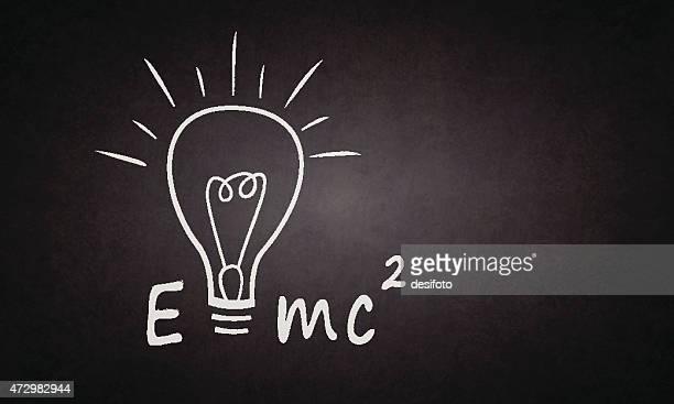 theory of relativity - mathematical formula stock illustrations