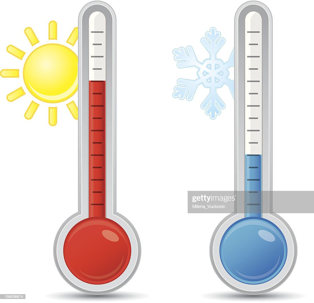 Thermometer with scale