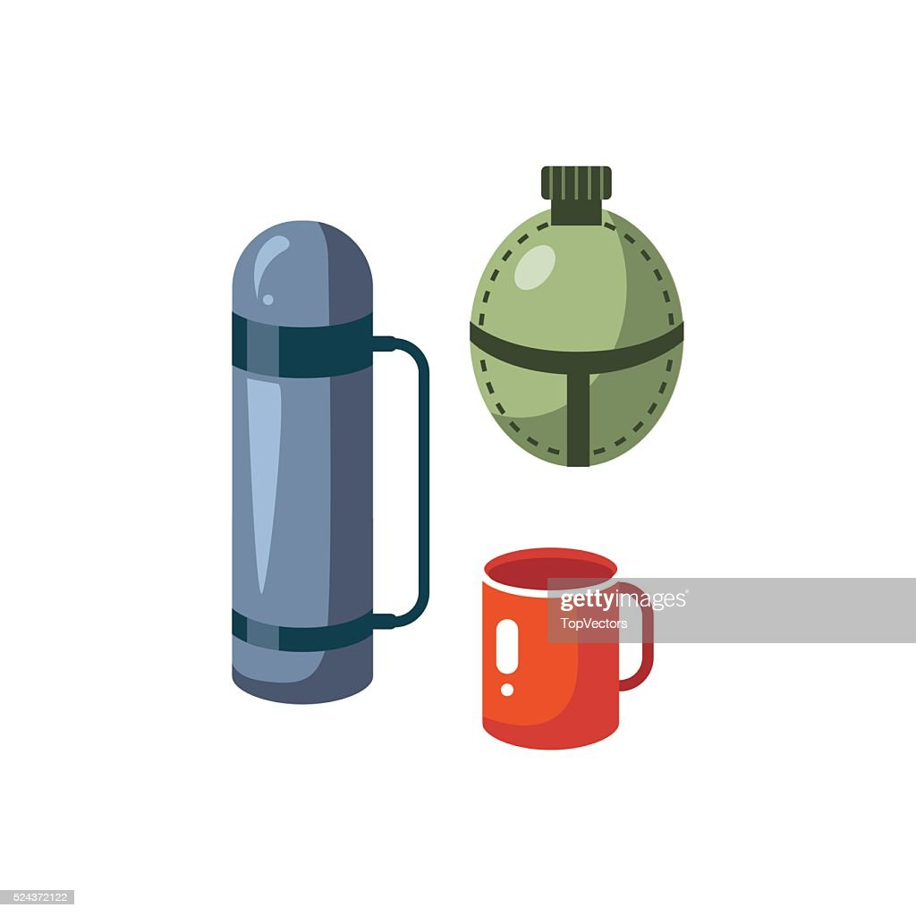 Thermos, Mug And Flask